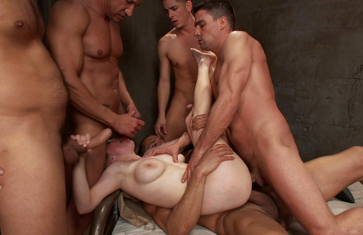 image Group orgy with naughty sluts fucking in a courthouse