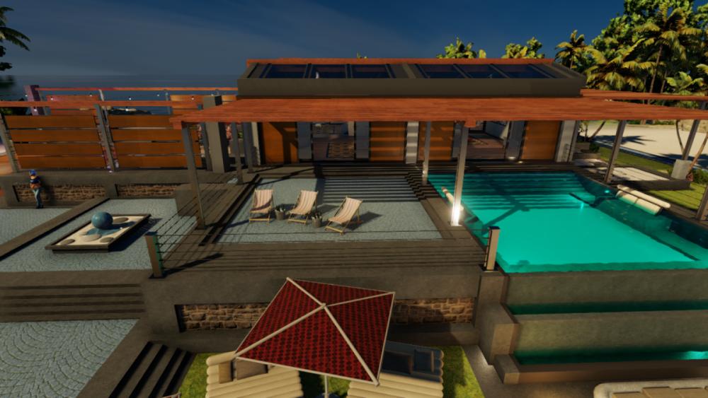 LaRoche Island Villa Front