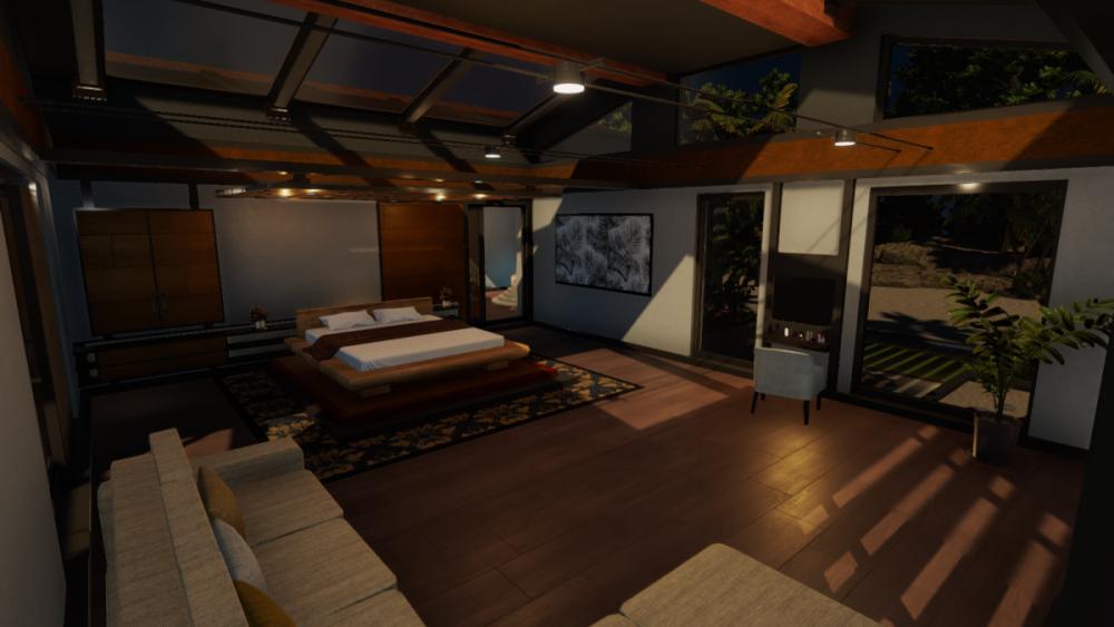 LaRoche Island Villa Bed Room